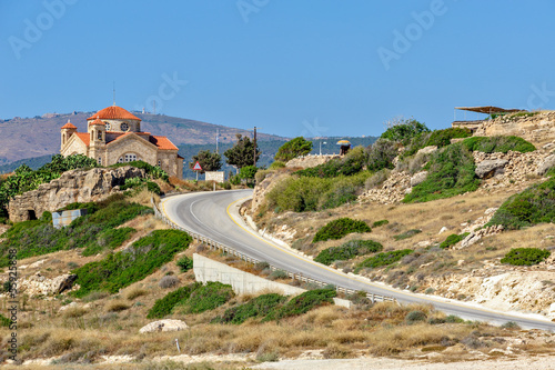 Foto op Canvas Cyprus Agios Gergios church on Cyprus