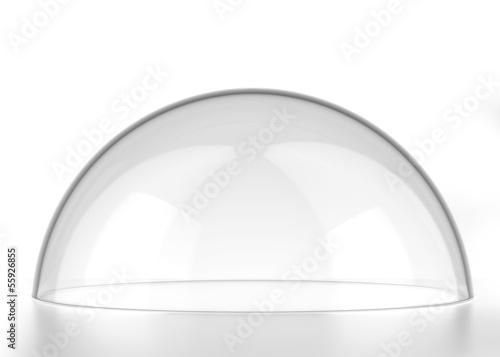 Stampa su Tela transparent semi-sphere