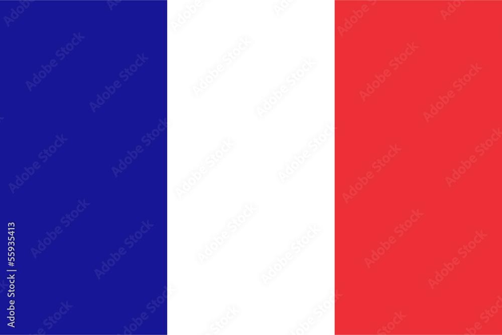 Fototapety, obrazy: French flag
