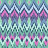 soft aqua ikat - seamless background