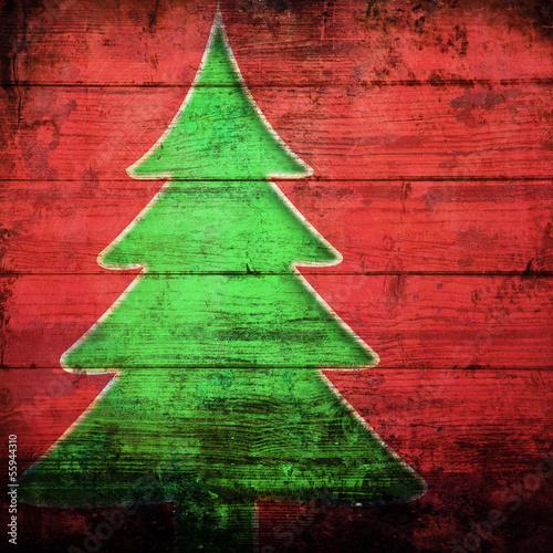 Albero Di Natale 94.Albero Di Natale Grunge Wall Mural Wallpaper Murals Wallsheaven Giuseppe Porzani