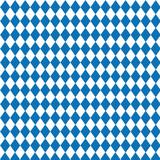 Rautenmuster – Oktoberfest Pattern, blau-weiss