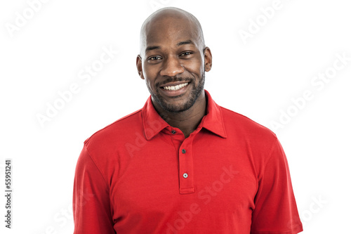 Fotografie, Obraz  Handsome Black Man Portrait