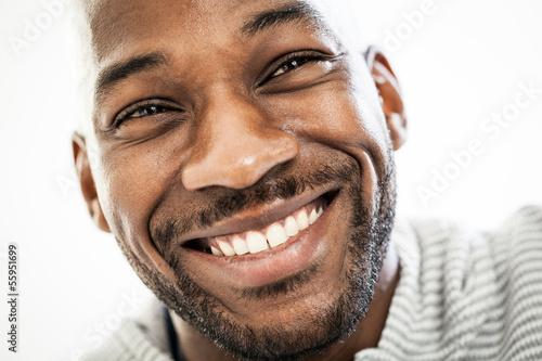 Fényképezés  Joyful Black Man