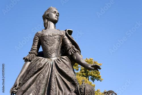 Sophie Auguste Friederike - Katharina die Große II. von Russland фототапет
