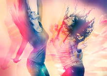 Arty Picture Of Dancing Girls ...