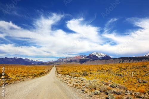 Fotografie, Obraz  The pampas in Patagonia