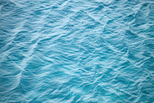 Blue Sea Water Photo Background Texture With Ripple