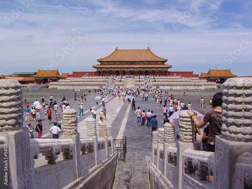 Photo Stands Beijing Tiananmen in Peking