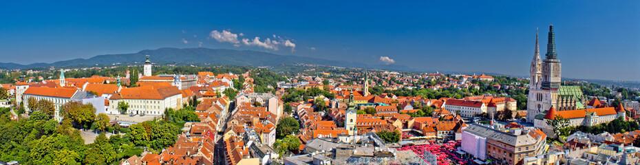 Povijesni grad Zagreb panoramski