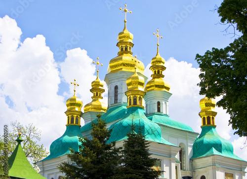 Foto op Plexiglas Kiev Kiev, Kievo-Pecherskaya lavra monastery