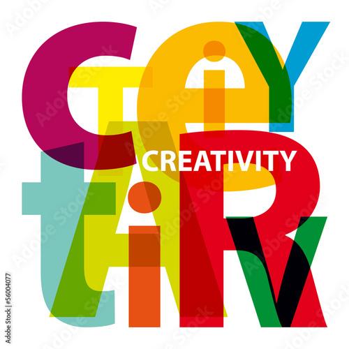 Fotografie, Obraz  Vector Creativity. Broken text