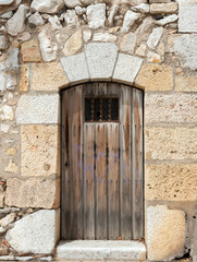 Fototapeta na wymiar Ancient door
