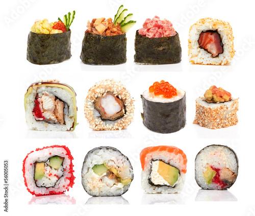 Obrazy do kuchni   buleczki-sushi