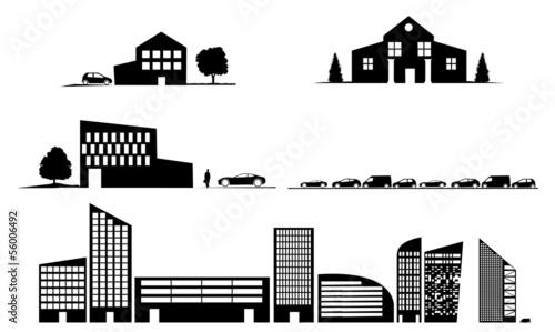 Fototapeta buildings obraz