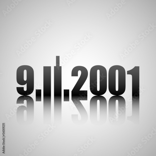 Photo  9.11.2001 label