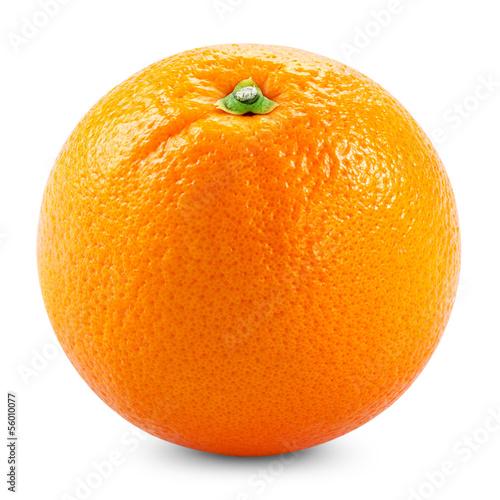 orange Fotobehang