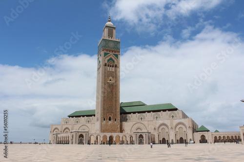 Spoed Foto op Canvas Marokko Mesquita Hassan 2