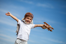 Boy With A Plane, Flying