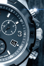Mens Watch Close Up