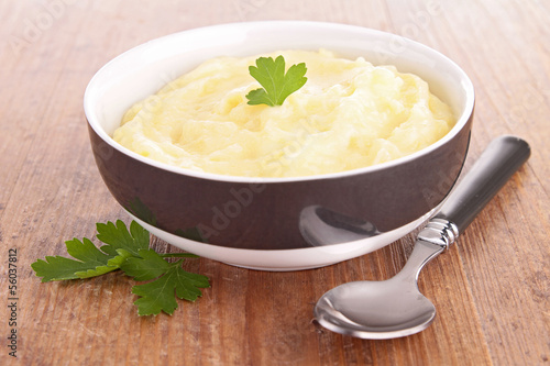 bowl of puree