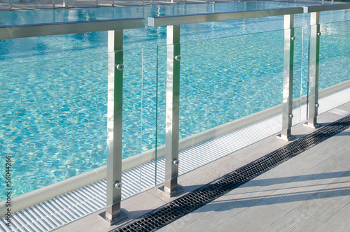 Canvas Print piscina