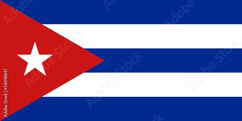 Photo  Flag of Cuba