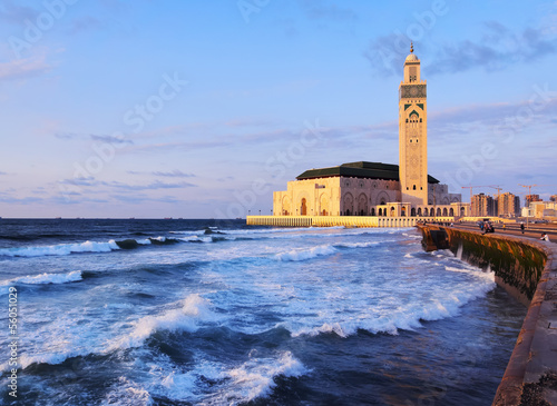 Photo  Hassan II Mosque in Casablanca