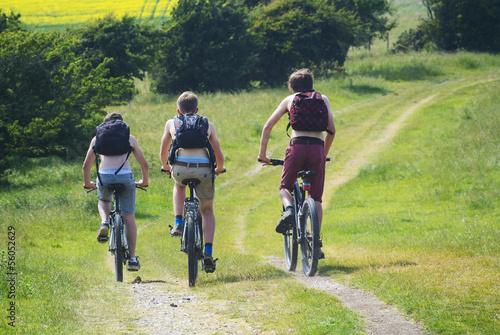 Foto op Plexiglas Fietsen cyclists