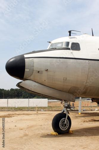 Fotografie, Obraz old plane parked in dessert