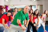 Fitness - Zumba dance workout in gym