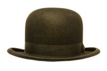 A Black Derby Or Bowler Hat