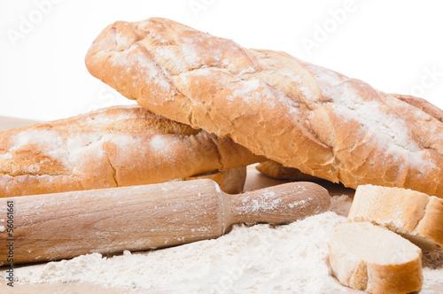 Fototapeta Variety of fresh bread obraz