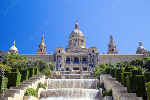 Papiers peints Barcelona National Art Museum of Catalonia, Barcelona, Spain