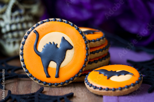 Fototapeta Halloween cookies
