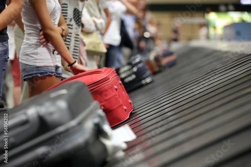 Fotografie, Obraz Baggage claim at airport