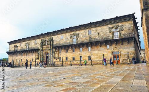 Fotografia Hostal de los Reyes Católicos, Santiago de Compostela, España