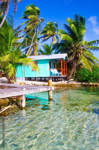 Traum Insel in der Karibik Canvas Print