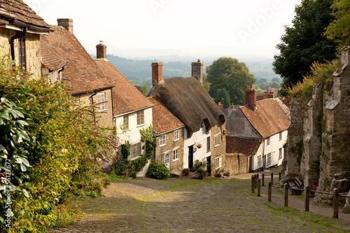 Gold Hill, Shaftesbury, Dorset, UK Fototapet