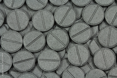 Photo Tablets Activated Carbon