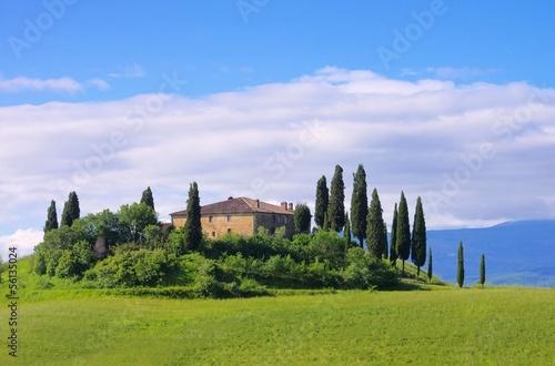 Aluminium Prints Tuscany Toskana Haus - Tuscany house 23