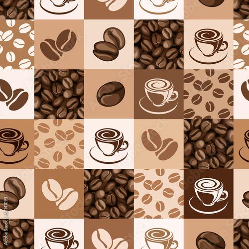 bezszwowy-wzor-z-kawowymi-fasolami-i-filizankami-ilustracji-wektorowych