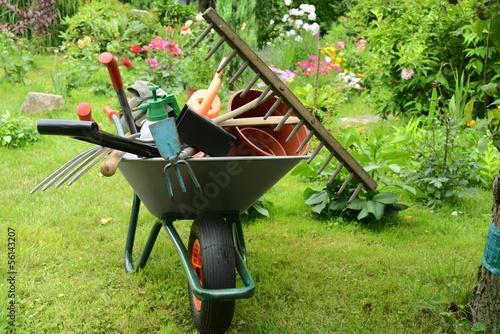 Foto op Canvas Tuin Garten 80