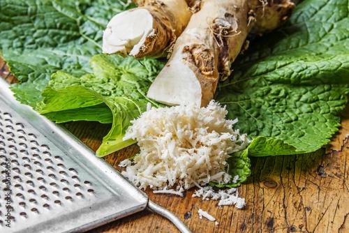 Fotografie, Obraz  grated horseradish