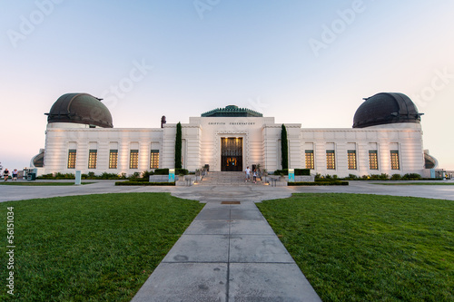 Griffith Observatory building in Los Angeles Wallpaper Mural