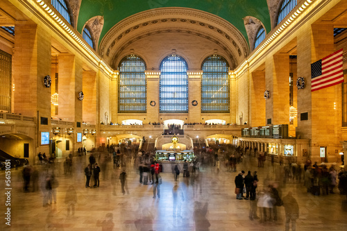 Grand Central Station in New York Canvas Print