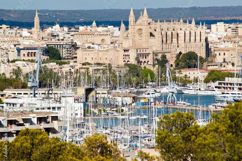 Fotografie, Obraz  Přístav Palma de Mallorca