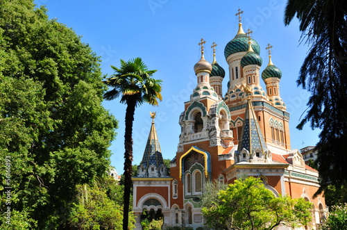 Russian Orthodox Cathedral Tableau sur Toile