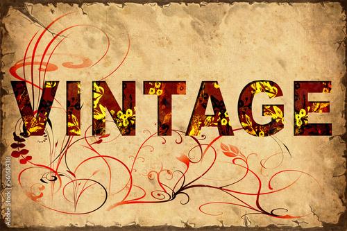 Papiers peints Affiche vintage Retrobild - Vintage
