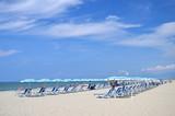 Fototapeta Fototapety z morzem do Twojej sypialni - Malownicza  plaża Marina di Vecchiano niedaleko Pizy, Włochy